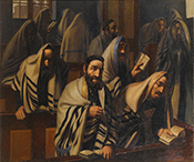 Jews at Prayer on the Day of Atonemen