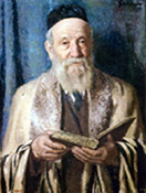 Rabbi with Book